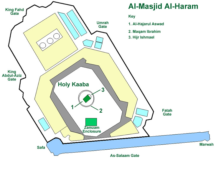 Phenomenal Masjid Al Haram Great Mosque Of Makkah Evergreenethics Interior Chair Design Evergreenethicsorg
